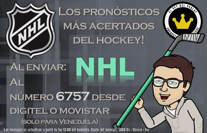 NHL pronósticos logros SMS