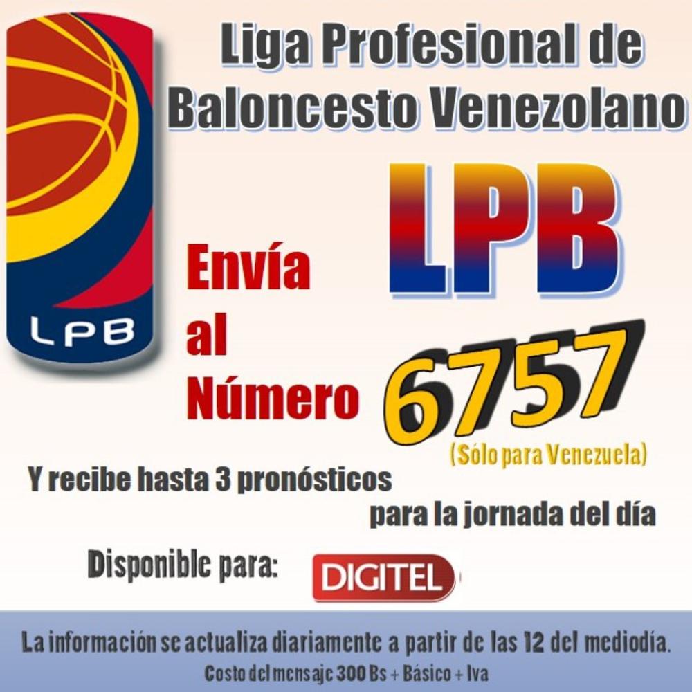 datos parley basket lpb venezuela